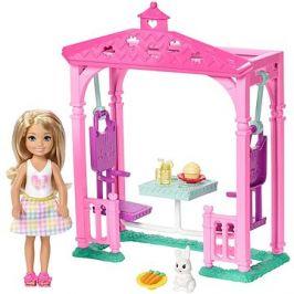 Barbie Chelsea a doplňky se světlými vlasy