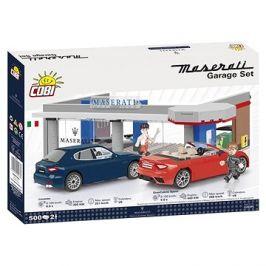 Cobi Maserati garáž