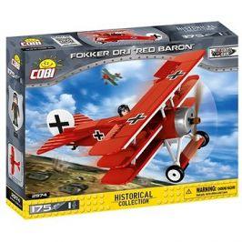 Cobi 2974 Letadlo Fokker Dr. 1 Red Baron