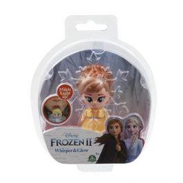 Frozen 2: svítící mini panenka - Anna Opening