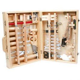 Kufřík dřevěné nářadí Deluxe