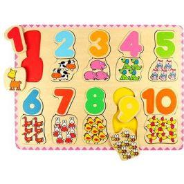 Dřevěné počítací puzzle II