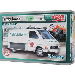 Monti system 06 - Ambulance Renault Trafic 1:35