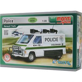 Monti system 27 - Policie Renault Trafic měřítko 1:35