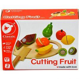 Ovoce krájecí s prkénkem