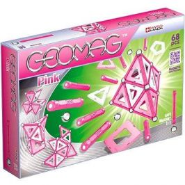 Geomag - Kids Pink 68 dílků