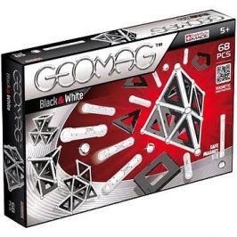 Geomag - Panels black/white 68 dílků