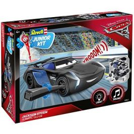 Junior Kit auto 00861 - Cars 3 - Jackson Hrom (světelné a zvukové efekty)