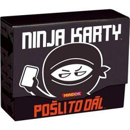 Ninja karty - Pošli to dál