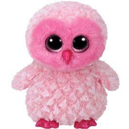 Beanie Boos Twiggy - Sova růžová 24 cm