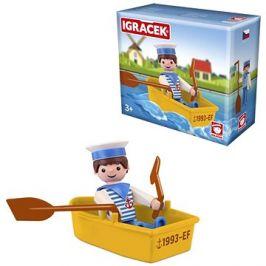 Igráček Námořník s lodičkou