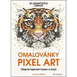 Omalovánky Pixel Art: tajemství barev a tvarů