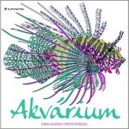 Akvárium: omalovánky proti stresu