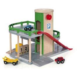 Brio World 33204 Patrová parkovací garáž s výtahem