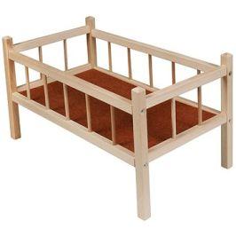 Dřevěná postýlka