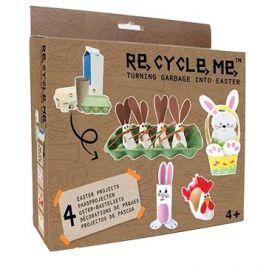 Set Re-cycle me –  Velikonoční menší závěsný