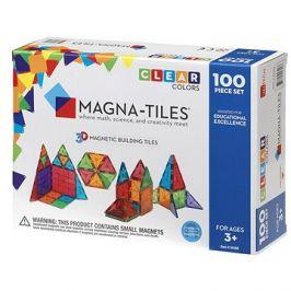 Magna-Tiles 100 průhledná