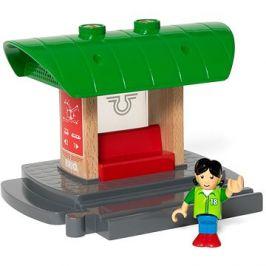 Brio World 33840 Nástupiště s hlasovým záznamníkem