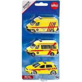 Siku Ambulance sada 3 aut CZ