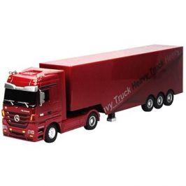Siva Kamion Mercedes-Benz Actros - červená