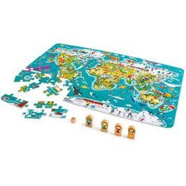 Hape Mapa světa 2 v 1