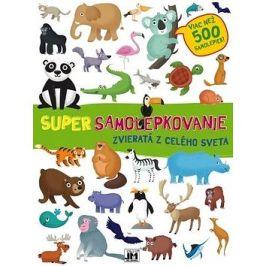 Super samolepkovanie Zvieratá z celého sveta: Viac než 500 samolepiek!