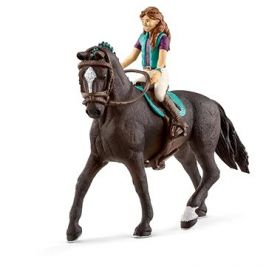Schleich 42516 Hnědovláska Lisa a kůň Storm