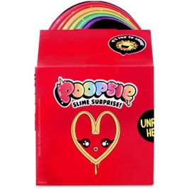 Poopsie Surprise Balíček pro přípravu slizu, červený