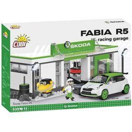 Cobi Škoda Fabia R5 Racing garáž