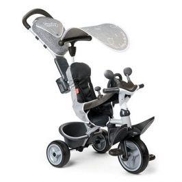 Smoby Tříkolka Baby Driver Comfort šedá