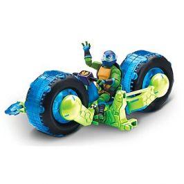 Motorka s figurkou modrá
