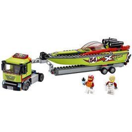 LEGO City Great Vehicles 60254 Přeprava závodního člunu
