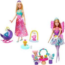 Barbie Pohádkový herní set s panenkou