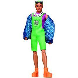Ken se zelenými vlasy módní deluxe