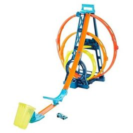 Hot Wheels Track builder trojitá smyčka