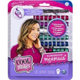 Cool Maker Náhradní nitě pro náramkovač 2019 - Mermaid