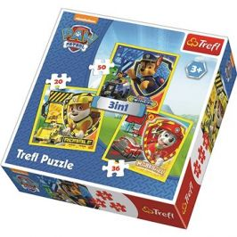 Puzzle 3v1 Tlapková patrola