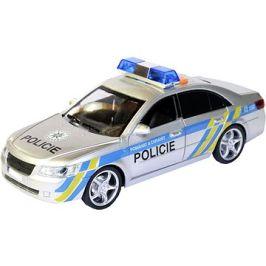 MaDe Auto policejní s českým hlasem, na setrvačník, 24cm