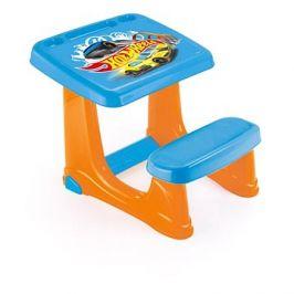 Hot Wheels Dětský stolek s lavicí