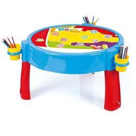 Dolu Hrací stolek 2v1 s kostkami
