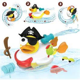 Yookidoo - Kreativní plavací kachna - Pirát
