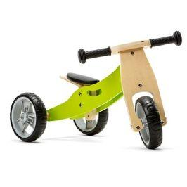 Nicko - Dřevěné odrážedlo 2v1 mini zelené
