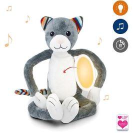 ZAZU - Kočička KATIE plyšové noční světlo s melodiemi