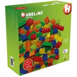 Hubelino Kuličková dráha - kostky barevné 120 ks