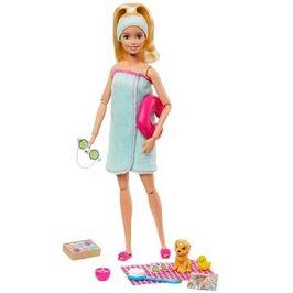 Barbie Wellness panenka blondýnka