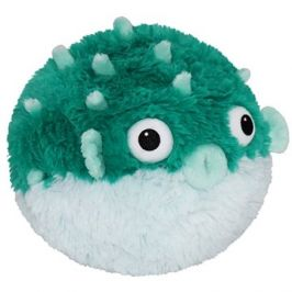 Teal Pufferfish 23 cm