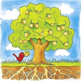 Goki strom - vývojové vrstvené puzzle