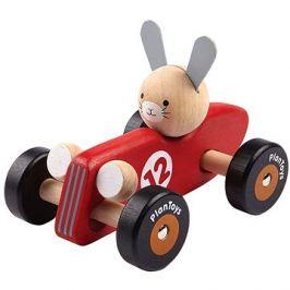 PlanToys zajíc - závodník