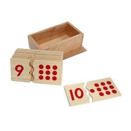Čísla a puntíky - puzzle