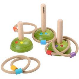 PlanToys házení kroužků - louka